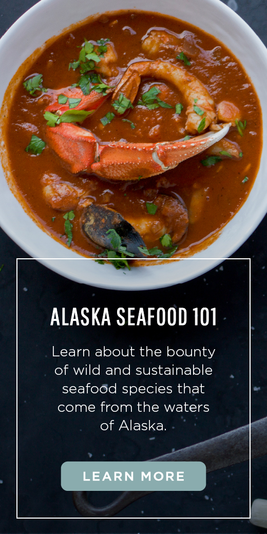 Learn about the bounty of wild and sustainable seafood species that come from the waters of Alaska.